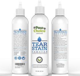 Tear Stain Remover for Dogs and Cats - Advanced Natural Formula Best for Effectively Cleaning Stains & Buildup Free of Chemicals Plus Prevents Dyed Fur 2