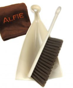 Alfie Pet by Petoga Couture - Louis Cat or Small Animal Cleaning Brush Set with Microfiber Fast-Dry Washcloth
