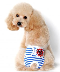 Alfie Pet by Petoga Couture - Mirian Diaper Dog Sanitary Pantie with Velcro Closure for Girls Dogs