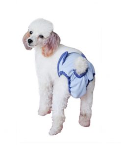 Pet Dog Breathable Diaper Cover-up Washable Sanitary Pantie Pants Training Incontinence dog diapers 2