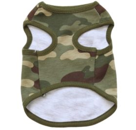 2017 Hot Pet Vest! AMA(TM) Pet Puppy Small Dog Clothes Chihuahua Camouflage Cotton Vest T-Shirt Doggy Shirts Apparel Costume 2