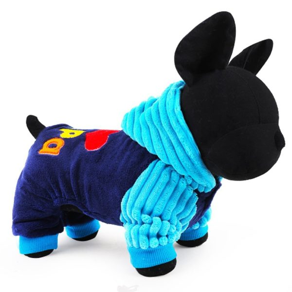 2016 Petcircle Fashion I love papa and mama winter Pet Dog Clothes Clothing For Pet Small Large Dog Coat Winter Clothes Jackets
