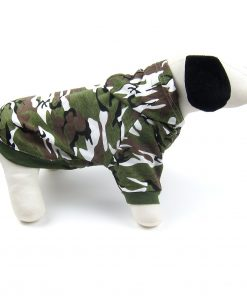 Alfie Pet by Petoga Couture - Meredith Military Hoodie 2
