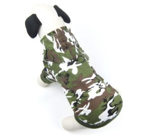 Alfie Pet by Petoga Couture - Meredith Military Hoodie