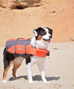 Dog Life Jacket Ripstop Life Jacket for Dogs by Outward Hound, Extra Small, Orange 2