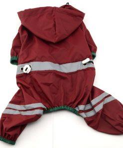 Dog Waterproof Raincoat Outdoor Hooded Rain Coat for Teddy ,Pug,Chihuahua,Shih Tzu,Yorkshire Terriers,Papillon 3