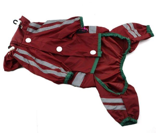 Dog Waterproof Raincoat Outdoor Hooded Rain Coat for Teddy ,Pug,Chihuahua,Shih Tzu,Yorkshire Terriers,Papillon 4