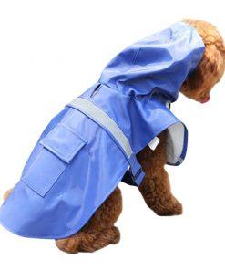 Dora Bridal Waterproof Dog Hooded Raincoat, Adjustable Pet Poncho Clothes, Hood Rain Jacket, Sunshine Garment Rain Cape Rainwear for Small Puppy 2