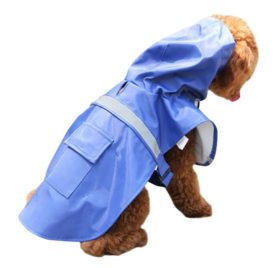 Dora Bridal Waterproof Dog Hooded Raincoat, Adjustable Pet Poncho Clothes, Hood Rain Jacket, Sunshine Garment Rain Cape Rainwear for Small Puppy 2