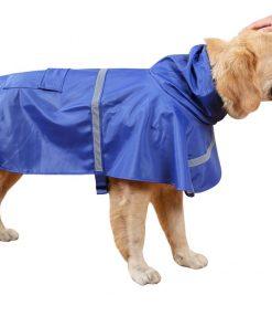 Dora Bridal Waterproof Dog Hooded Raincoat, Adjustable Pet Poncho Clothes, Hood Rain Jacket, Sunshine Garment Rain Cape Rainwear for Small Puppy