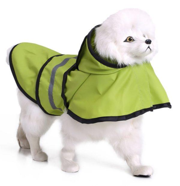 MaruPet Adjustable Small to Large Dog Waterproof Raincoat Lightweight Rain Jacket Poncho with Strip Reflective for Teddy, Pug, Chihuahua, Shih Tzu, Golden Retriever, Husky, Samoye 3