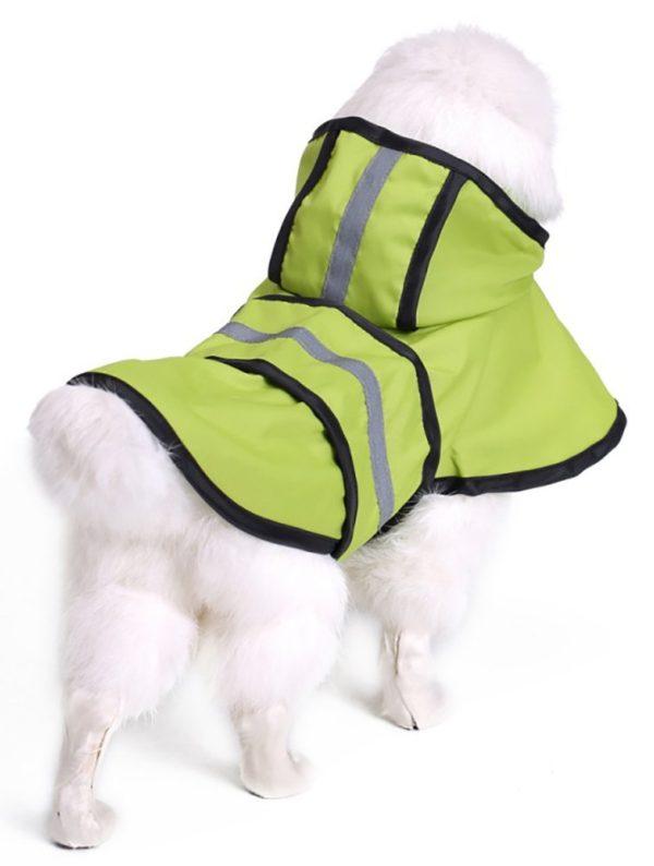 MaruPet Adjustable Small to Large Dog Waterproof Raincoat Lightweight Rain Jacket Poncho with Strip Reflective for Teddy, Pug, Chihuahua, Shih Tzu, Golden Retriever, Husky, Samoye 4