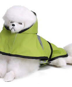MaruPet Adjustable Small to Large Dog Waterproof Raincoat Lightweight Rain Jacket Poncho with Strip Reflective for Teddy, Pug, Chihuahua, Shih Tzu, Golden Retriever, Husky, Samoye 5