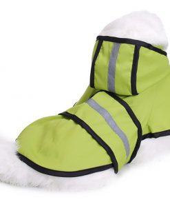 MaruPet Adjustable Small to Large Dog Waterproof Raincoat Lightweight Rain Jacket Poncho with Strip Reflective for Teddy, Pug, Chihuahua, Shih Tzu, Golden Retriever, Husky, Samoye 6