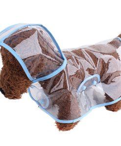 Pet Raincoat , Small Dog Waterproof Clothes Rain Jacket Puppy Transparent Poncho Rainwear Clothes for Small Dog