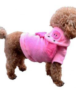 ARJOSA Puppy Dog Pet Hoodie Jumpsuit Pig Halloween Costume Clothes