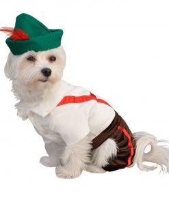Anit Accessories Lederhosen Dog Costume, 8-Inch 2