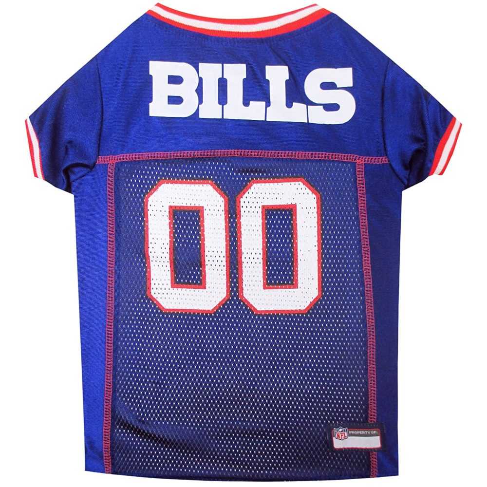 e8a2ffdfa NFL PET JERSEY Football Licensed Dog Jersey 32 NFL Teams Available Comes in  6 Sizes Football Pet Jersey Sports Mesh Jersey Dog Jersey Outfit (Buffalo  Bills)