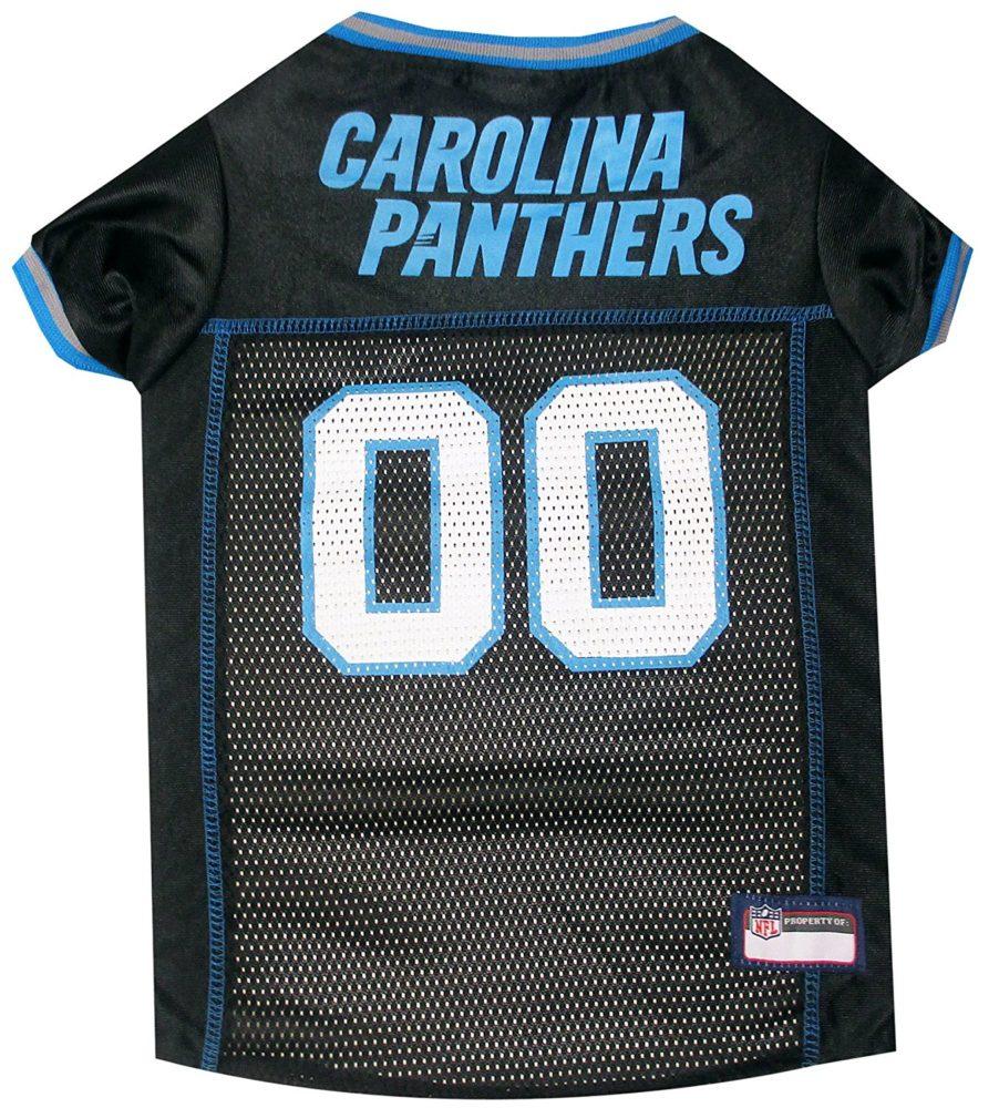 6a50c28af8e NFL PET JERSEY Football Licensed Dog Jersey 32 NFL Teams Available Comes in  6 Sizes Football Pet Jersey Sports Mesh Jersey Dog Jersey Outfit (Carolina  ...