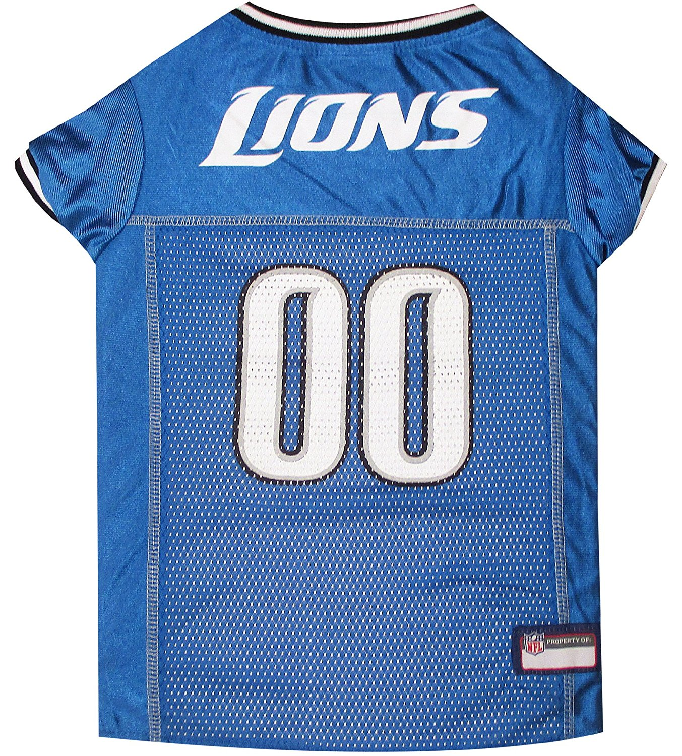 0ede1145db5 NFL PET JERSEY Football Licensed Dog Jersey 32 NFL Teams Available Comes in  6 Sizes Football Pet Jersey Sports Mesh Jersey Dog Jersey Outfit (Detroit  Lions)