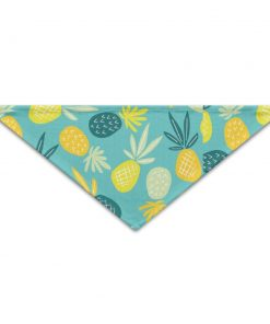 PETLOVEPET Pineapple Cool Summer Triangle Pet Scarf Dog Bandana Pet Collars For Dog Cat One Size