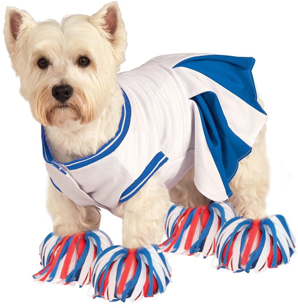 Rubieu0027s Deluxe Cheerleader Pet Costume, Small