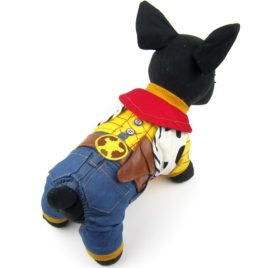 Alfie Pet by Petoga Couture - Niko the Cowboy for Party Halloween Special Events Costume