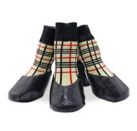 abcGoodefg Pet Dog Puppy Waterproof Nonslip Sports Socks Shoes Boots, Rubber Sole, Comfortable Design