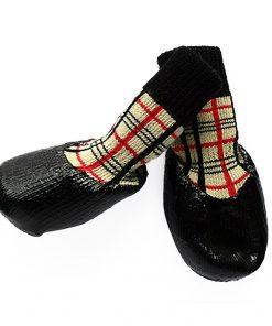 abcGoodefg Pet Dog Puppy Waterproof Nonslip Sports Socks Shoes Boots, Rubber Sole, Comfortable Design 8