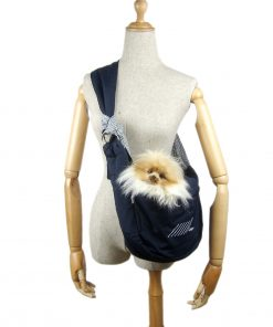 Alfie Pet by Petoga Couture - Carmel Pet Sling Carrier with Adjustable Strap