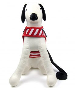Alfie Pet by Petoga Couture - Dustin Sailor Harness and Leash Set - Colo-Red Stripe, Size - Small