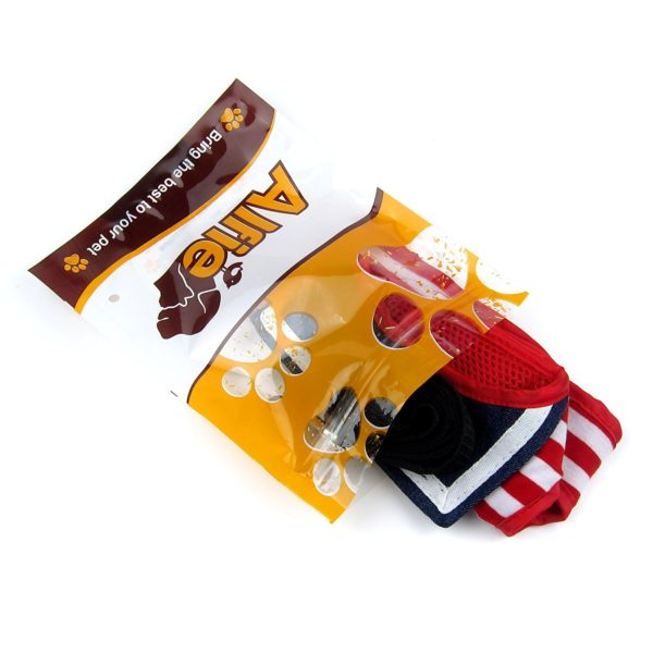 Alfie Pet by Petoga Couture - Dustin Sailor Harness and Leash Set - Colo- Red Stripe, Size - Small 6