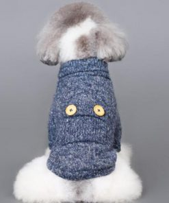 BWSC Pet Coat Fleece Dog Sweater Winter Clothes Cat Knitwear For Chihuahua Doggie 9