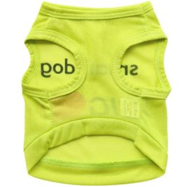 Binmer(TM) Lovely Small Dog Big Love Letters Dog Vest Shirt Puppy Costume Summer Apparel for Chihuahua Poodle Teddy 3