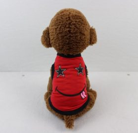 Binmer(TM) Lovely Small Dog Smile Face Vest Shirt Puppy Costume Summer Apparel for Chihuahua Poodle Teddy 2