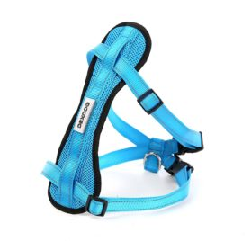 Chest Plate Harness by DEXDOG - Auto Car Safety Harness - Adjustable Straps, Reflective, Padded for Comfort - Best Dog Harness Small Large Dogs