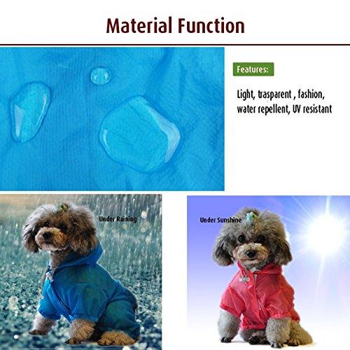 Dog Shirt Rash Guard Pet Summer Cloth Pup Sun Protection Shirts 5