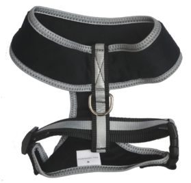 Reflective Warm Padded Soft Dog Harness Safe Harness No Pull Walking Pet Harnesses for Dogs 2