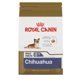 Royal Canin 519625 Breed Health Nutrition Chihuahua 8+ Dry Dog Food, 2.5 lb