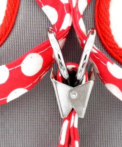 SMALLLEE_LUCKY_STORE New Soft Mesh Nylon Vest Pet Cat Small Medium Dog Harness Dog Leash Set Leads Red S 10