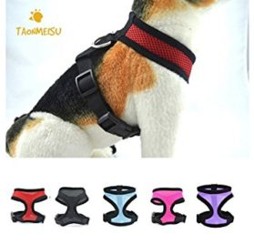 Soft Mesh Dog Puppy Vest Harness Pet Supplies