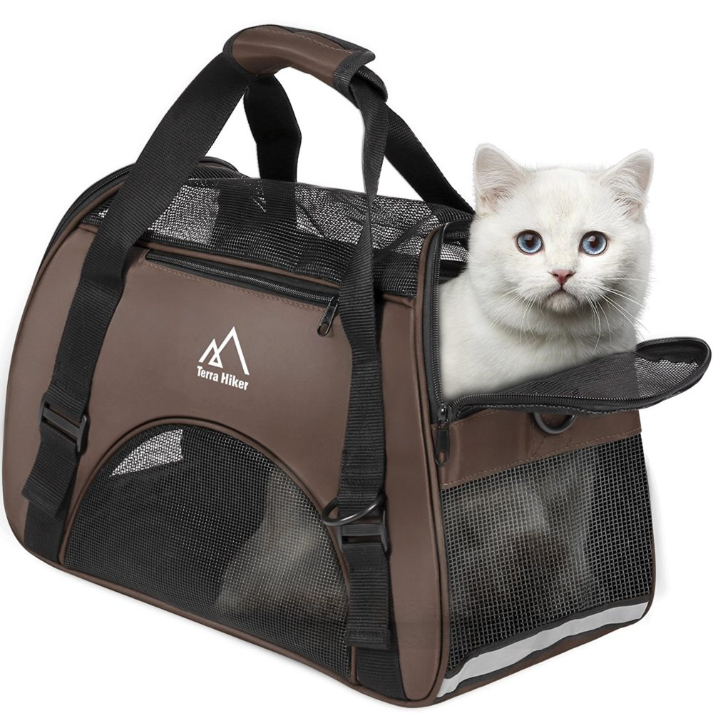 3bc87f610e Terra Hiker Small Pet Carrier, Airline Approved Carrier, Under Seat