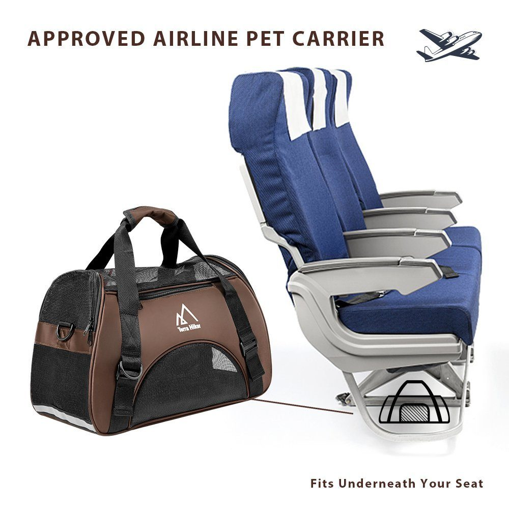 Terra Hiker Small Pet Carrier, Airline Approved Carrier