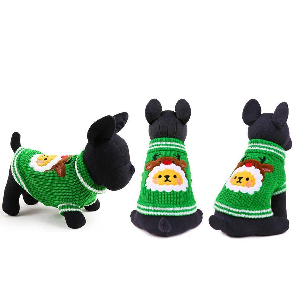 Christmas Tree Gates For Dogs: Petcircle New Christmas Tree Knitting Dog Sweater