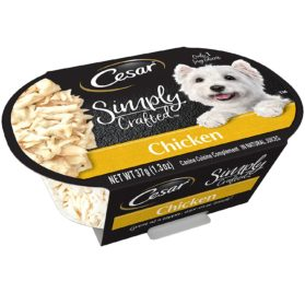CESAR SIMPLY CRAFTED Adult Wet Dog Food Cuisine Complement 2