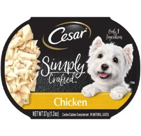 CESAR SIMPLY CRAFTED Adult Wet Dog Food Cuisine Complement
