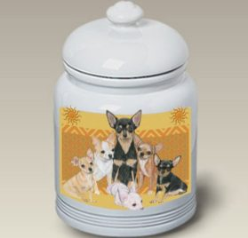 Chihuahuas - Best of Breed Treat Jars