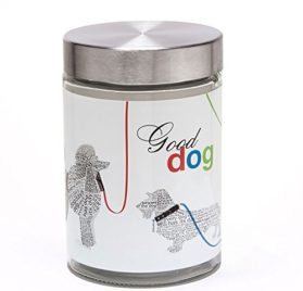 Dog Treat Jar by Wild About Words