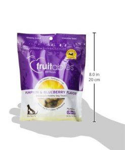 Fruitables Pumpkin & Blueberry Crunchy Dog Treats 1-7 ounce Pouch 3