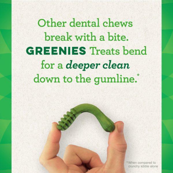 GREENIES Flavors Dental Dog Treats 10